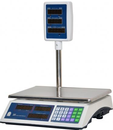 Торговые весы со стойкой ВР-01