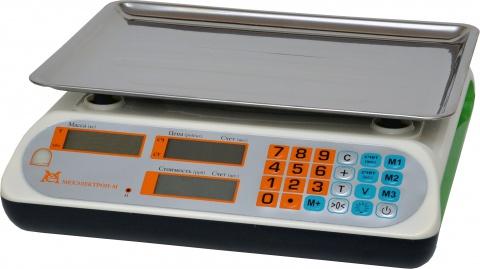 Торговые весы ВР -12